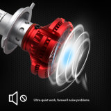 3つの色温度車LEDのヘッドライトの球根の変換キット
