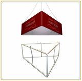 天井(三角20ft)からのハングの印の旗
