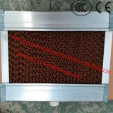 Rilievo evaporativo del dispositivo di raffreddamento di aria di colore verde del Brown/rilievo di raffreddamento per il dispositivo di raffreddamento di aria