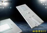 높은 광도 Bridgelux는 LED 램프를 가진 태양 가로등을 잘게 썬다