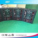 P5mm pleine couleur intérieure incurvée avec affichage LED Module magnétique