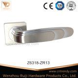 De style européen de la poignée de porte en alliage de zinc sur le protocole RADIUS Rose (Z6318-ZR13)