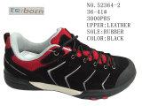 Два цвета кожаные туфли женщин размер обуви