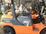 新しい一人乗り二輪馬車Elevateur 3.5トンのガスのフォークリフトMontacargas