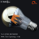 Bulbo de plata superior del filamento de la luz del espejo del LED con Ce de la UL