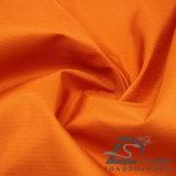 75D 260t 물 & 바람 저항하는 옥외 아래로 운동복 재킷에 의하여 길쌈되는 견주 복숭아 피부 줄무늬 자카드 직물 100%년 폴리에스테 직물 (53026)