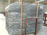 Polished естественный каменный серый сляб гранита для пола и стены