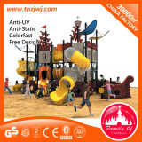 Оборудование спортивной площадки пластичной игрушки ребенка корабля пиратов напольное для школы