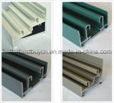 Finestra di alluminio d'apertura di vendita superiore della stoffa per tendine di modello
