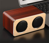 Деревянный диктор Bluetooth карточки W2 с функцией голоса