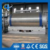 배치 반응기 낭비 기름에 플라스틱 타이어 열분해는 기계장치를 재생한다