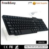 Самый дешевый USB 104 Wired Keyboard Hot Sell тонкий для Desktop