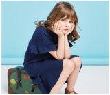 Nuovo vestito dalla ragazza dei vestiti dei bambini di modo per la primavera e l'autunno