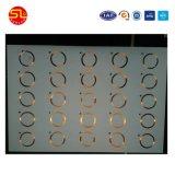 Precio de mayoreo Diseño personalizado de la interfaz de doble hoja con incrustaciones de tarjeta inteligente
