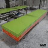 Поверхность твердого тела смолаы полиэфира строительного материала Kkr белая