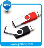 로고를 가진 주문 선전용 회전대 USB 저속한 운전사 64GB