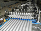 Galvanisierte Stahldach-Rolle, die Maschine bildet