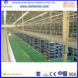 Mezzanine van de Vloer van het Pakhuis van het staal het Rekken (ebil-GLHJ)