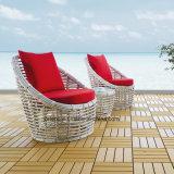 Lounge de praia, mobiliário de jardim ao ar livre confortável, sofá de lazer, conjunto de café (YTA623 e YTE623)
