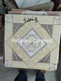 Azulejos de suelo esmaltados de cerámica brillantes de la serigrafía