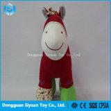 Paard van het Stuk speelgoed van de Pluche van de Prijs van de goede Kwaliteit het Goedkope Kleurrijke Gevulde