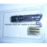 marchio del laser della lega di alluminio 3*AAA e torcia elettrica del pacchetto del contenitore di regalo