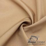 l'eau de 75D 240t et de vêtements de sport tissu 100% de polyester de jacquard de plaid de peau de pêche de pongé tissé par jupe extérieure Vent-Résistante vers le bas (53024)