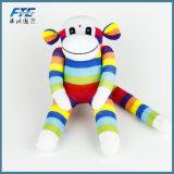 Hot vendre Sock Monkey Soft farcies singe en peluche poupée de jouets pour enfants