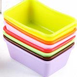 Счастливый прямоугольник DIY сформировал цветастую прессформу торта чашки силикона