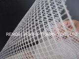 120g het alkali-bestand Externe Netwerk van de Glasvezel van de Isolatie van de Muur van Bouwmaterialen
