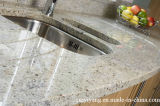 Stairs Countertop Vanity Top Floor Tileのための紫色のSpotカシミールWhite Granite Slab