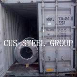 Il colore grigiastro Ral9002 ha ricoperto l'acciaio/bobina d'acciaio galvanizzata ricoperta prima