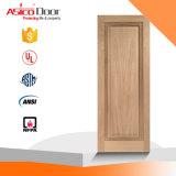 Porta de incêndio de madeira contínua da madeira do bom projeto