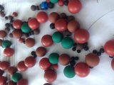NBR FKM Viton силиконового герметика Vmq резиновых шариков