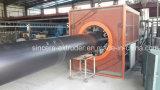 Cadena de producción plástica del tubo del HDPE de los PP del PE tubo que hace la máquina