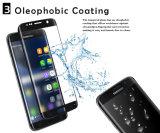 protecteur de dépliement chaud d'écran en verre Tempered de la colle 3D latérale pour le bord de Samsung S6 plus mini