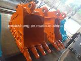 Cubeta giratória resistente da rocha da garra para 19-26tons das peças de maquinaria da escavadora da máquina escavadora