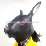 Máscara de los animales de los ciervos del traje de Víspera de Todos los Santos del látex de la máscara