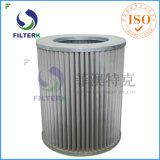Filtro del gas del plisado del poliester de Italia del reemplazo de Filterk
