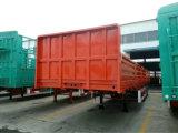 2018 Trois essieux la paroi latérale 40tonne clôturé Cargo camion semi-remorque de camion