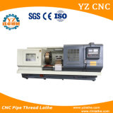 Tubo Cqk245 que rosca la máquina del torno del CNC