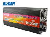Inversor da potência solar de Suoer 3000W 24V 220V com carregador (HAD-3000D)