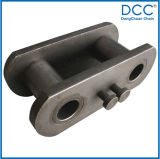 Steel Draw Bench Hollow Pin Leaf Chain com ISO Aprovado