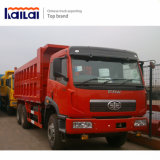 アフリカの市場のためのFAW 6X4のダンプトラックのダンプカートラック