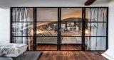 2017 Nouvelle conception de portes coulissantes en aluminium