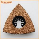 삼각형 델타 탄화물 모래 가는 강판