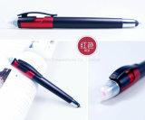 3 dans 1 crayon lecteur de bille multifonctionnel avec le crayon lecteur de cadeau de promotion de Screen&Highlighter&Pen de contact