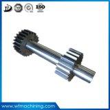 O OEM forjou a liga/o eixo de manivela/eixo de aço da movimentação da transmissão da engrenagem de sem-fim