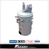 Single ad alta frequenza Phase Power Palo-Mounted Transformer 60kVA