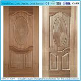 Кожа двери составной панели деревянная HDF с Veneer древесины вишни/Teak